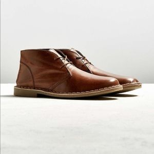 Leather urban outfitters men's desert boot